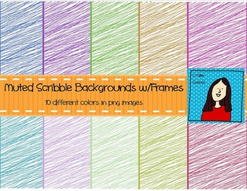 Muted Scribble Backgrounds