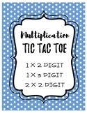 Muti Digit Multiplication Tic Tac Toe