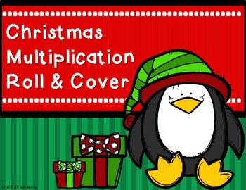 Mutiplication Roll and Cover {Christmas Theme)