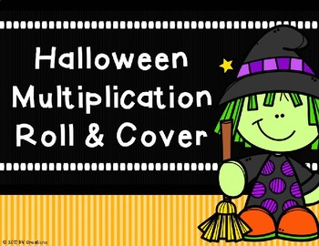 Mutiplication Roll and Cover {Halloween Theme)