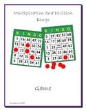 Mutiplication and Division Bingo Game