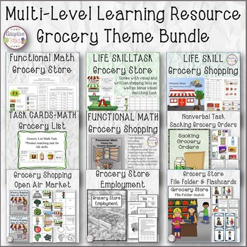 Mutli-Level Resource Bundle-Grocery Store Theme
