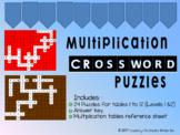 Mutliplication Crossword