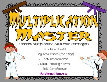 Multiplication Masters for Common Core Operations and Alge