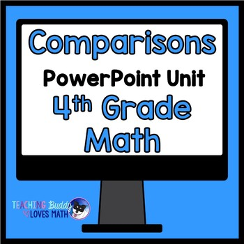 Comparisons with Multiplication and Division Math Unit 4th Grade Common Core