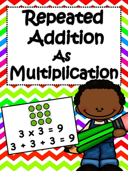 Mutliplication as Repeated Addition