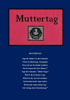 Muttertag (Mother's Day) - A funny German poem based on a pun