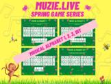 Musical Alphabet Game - Spring