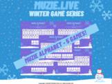 Musical Alphabet Game- Winter