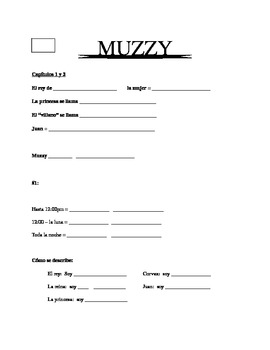 Muzzy Packet Chapters 1 & 2, first DVD
