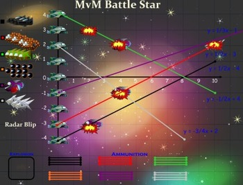 MvM Battle Star XY Coordinate or Slope Game