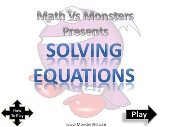 MvM Solving Equations Game