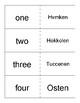 Mvskoke Language Flash Cards set 1