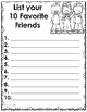 100th Day of School List (Booklet)