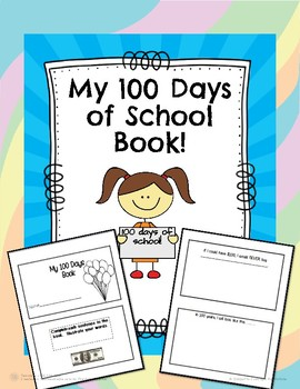 My 100 Days of School Book!
