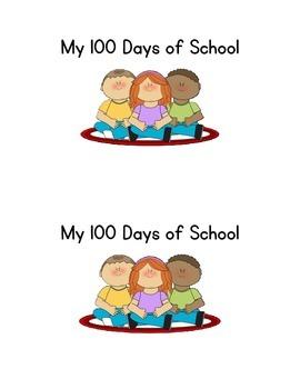 My 100 Days of School Emergent Reader
