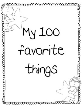 My 100 Favorite Things