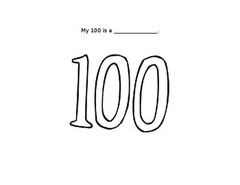 My 100 is a....