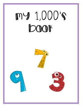 My 1000's Book