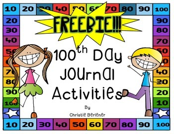 My 100th Day Journal