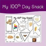 My 100th Day Snack Mat