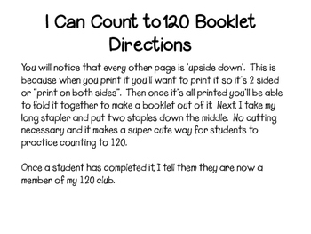 My 120 Booklet