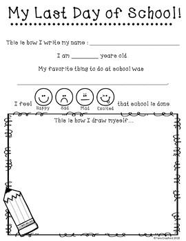 First Day and Last Day of School Printable by Tara ...