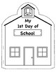 My 1st Day of School Book