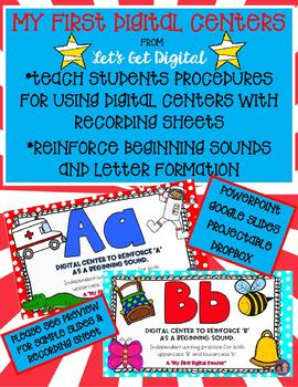 My 1st Digital Centers-Teaches Procedure For Using Digital Centers & Recording