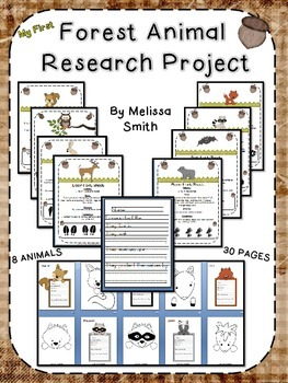My 1st Forest Animal Research Project