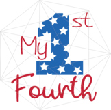 My 1st Fourth SVG Independence Day Crafters America USA Flag