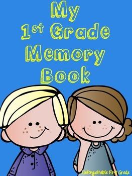 My 1st Grade Memory Book