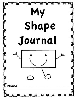 My 1st Shapes- Shape Journal and Anchor Chart Posters