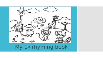My 1st rhyming book