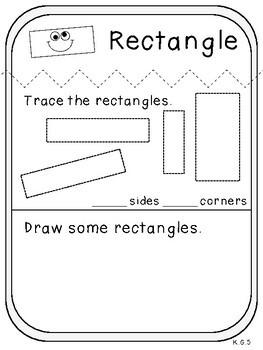 My 2-D Shape Book (Kindergarten Activity, K.G.5)