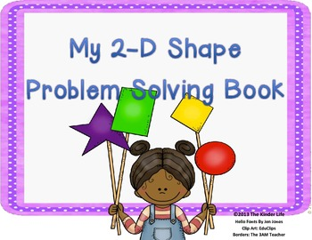 My 2-D Shape Problem Solving Book