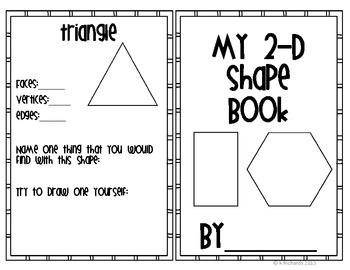 My 2-D and 3-D Shape Book