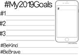 My 2019 Goals - Back to School #ausbts19 FREEBIE