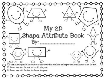 My 2D Shape Attribute Book