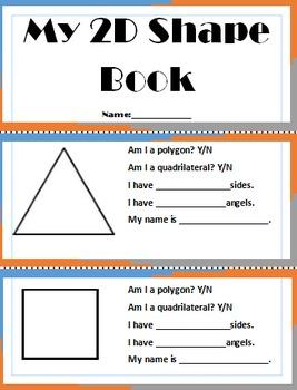 My 2D Shape Book