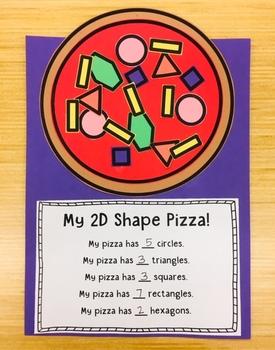 My 2D Shape Pizza!