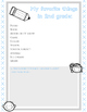 My 2nd Grade Memory Book {a no-prep, end of year printable packet!}