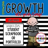 Student Data Portfolio / Scrapbook 2nd Grade