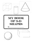 My 3-D Shapes Book  (Geometry)