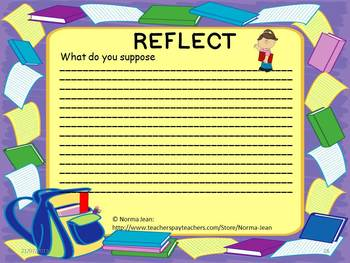 Retell, Relate, Reflect - Reading Comprehension Book