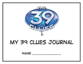 My 39 Clues Journal:  13 Different Journal Page Templates
