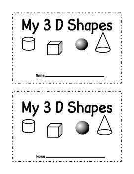 My 3D Shape Book