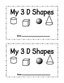 picture about Printable Shape Book titled 3d Form E book Worksheets Coaching Products Lecturers Spend