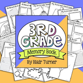 End of the Year Memory Book - 3rd Grade