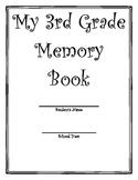 My 3rd Grade Memory Book